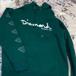 BRAND NEW DIAMOND SUPPLY HOODIE